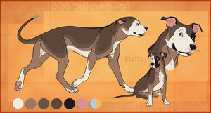 STS Dog - Hatty by ShockTherapyStables