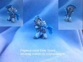 MLP FiM custom blindbag: Pegasus Mare Royal Guard by vulpinedesigns