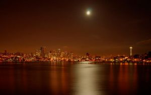Seattle Skyline by alexquick