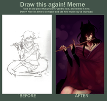 Before and After Meme by Azuki-sama