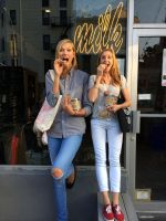 Karlie Kloss cookie store by lowerrider
