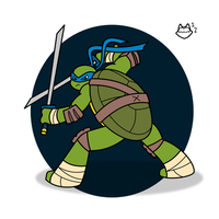 TMNT - Fearless Leader by ConnerCoon