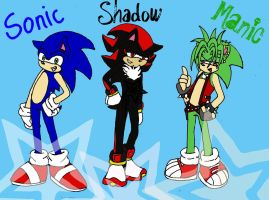 sonic shadow manic by crimsonlink