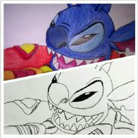 Stitch Two Stages by mohnman