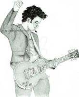 Kevin Jonas Rocking out by Cutesky