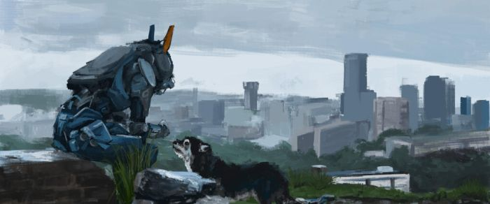 I will never stop practicing: Chappie by Poteto-Man