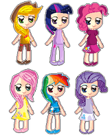 mlp pixels by XDemiseEmoGirlX