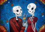 Day of the Dead Painting by professor-ponyarity