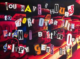 Skippy Ransom Note by INF3CT3D-D3M0N