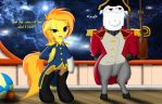Captain Spitfire and Mr.Snowflake by Spitshy