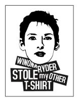 Winona Ryder Stole my Other Ts by dugebag
