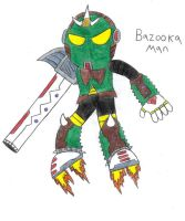 Robot Master 4: Bazooka Man by TheSpiderManager
