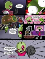 Invader Zim: Conqueror of Nightmare Page 5 by Blhite