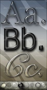 Elegant Glass Text Effects by agodesa