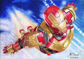 IronMan 3 - Mark 42 by alemarques21