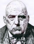 ALEISTER CROWLEY by darthivann