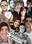 Austin Carlile Collage by Bandmadness