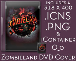 Zombieland DVD Cover by TrickD123