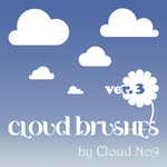 Cloud Brushes ver.3 by cloud-no9