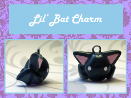 Lil' Bat Charm by Lilyanora