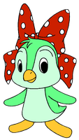 Polka-Dots the Penguin by Wanda92