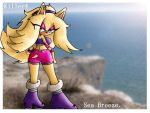 Muffy the hedgehog-Sea Breeze by killer4