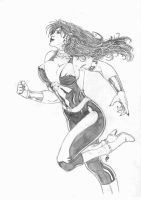 Donna Troy 030811 by JeanSinclairArts