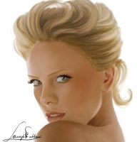 Charlize Theron by Lagoonnw