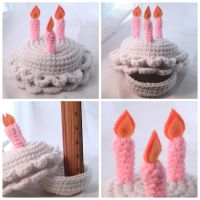 Birthday Cake Box by hellohappycrafts