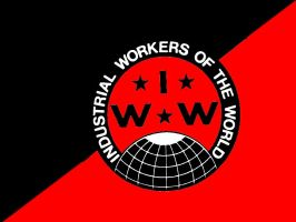 IWW Black and Red Flag by Skargill