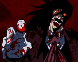 Bloody Alucard by Tomycallejeros