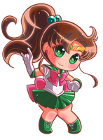 Commission:: Sailor Jupiter by Hadibou