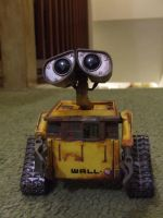 wall-e re painted by FortuneandGlory