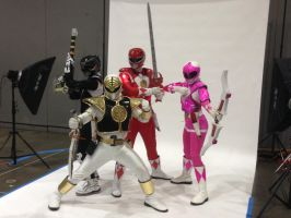 Power Ranger Cosplayers by anazario101