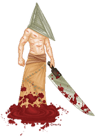 Pyramid Head by metal-marty