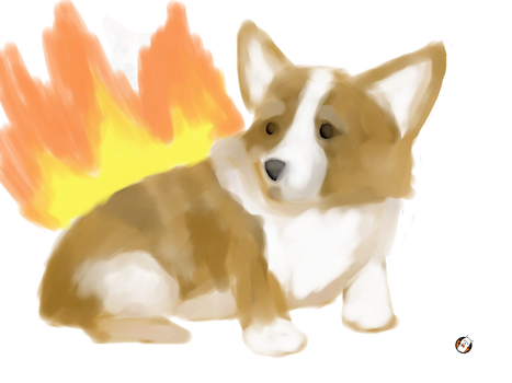 Corgiquill by CopperPieces