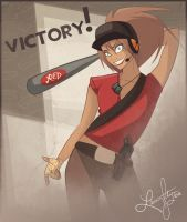 TF2 Femscout by TheMadHare