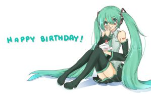Happy Birthday Miku! by Ab-anna