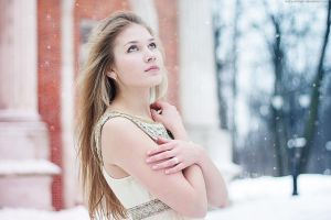 Under the snow by mary-shimon