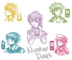 Number Days by riyacchi