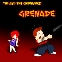 Tim and the Chipmunks - Grenade Album Cover by FireFoxOmicron