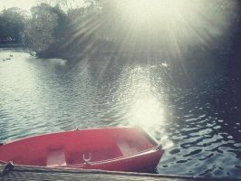 Red Boat by salacharlie