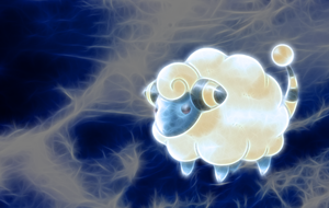 Mareep Wallpaper by Queen-Blanca