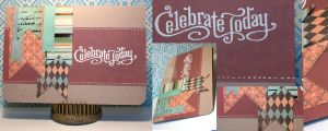Card: Celebrate Today w/Banners by kendravixie