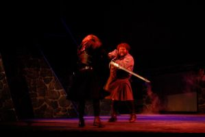 Macbeth - fight with Macduff by HGriffin