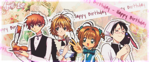 CLAMP b-day by sam-ely-ember
