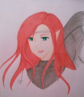 Rhaine Alcinea: Competition Entry by SapphireAngelBunny