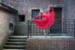 Woman In Red by PhotoYoung