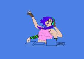 WIP DJ mutant by BlastShieldBuddy