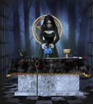 The Witches Altar by Kaleya